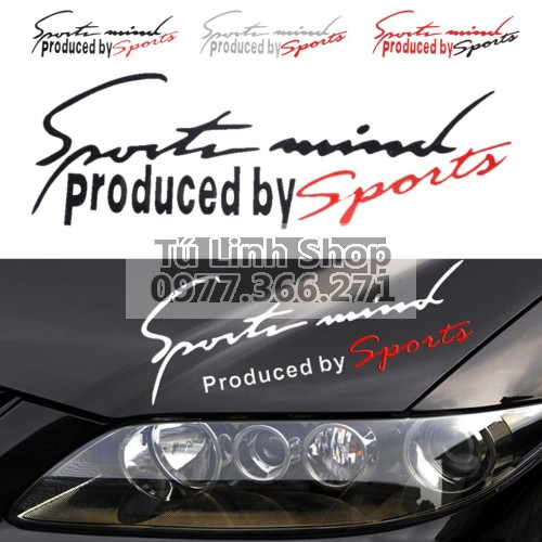 DECAL SPORT MIND
